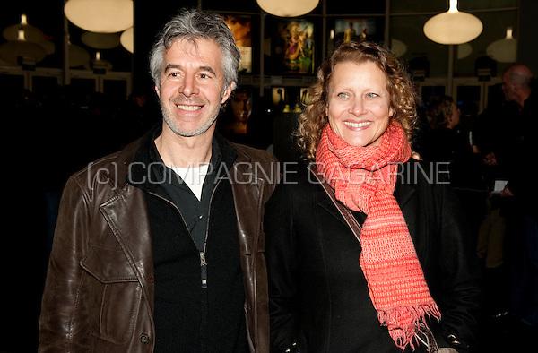 Christel Domen and Marc Coessens at the première of the movie Marieke Marieke at the Kinepolis in Brussels (Belgium, 20/01/2011)