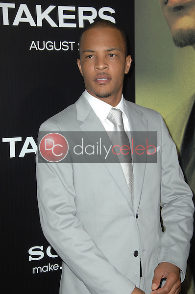 """T.I.<br /> at the """"Takers"""" World Premiere, Arclight Cinerama Dome, Hollywood, CA. 08-04-10<br /> David Edwards/Dailyceleb.com 818-249-4998"""