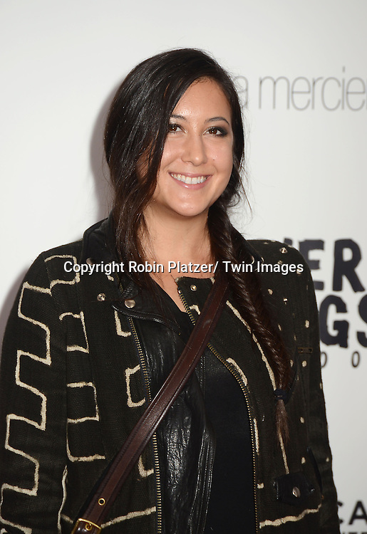 "Vanessa Carlton attends the New York Premiere of "" Silver Linings Playbook"" on November 12, 2012 at the Ziegfeld Theatre in New York City. The movie stars Bradley Cooper, Robert De Niro, Jacki Weaver, Chris Tucker, Julia Stiles, John Ortiz, Brea Bee, Anupam Kher, Shea Whigham and is directed by David O. Russell."