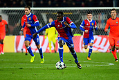 31st October 2017, St Jakob-Park, Basel, Switzerland; UEFA Champions League, FC Basel versus CSKA Moscow; Dimitri Oberlin of FC Basel runs with the ball