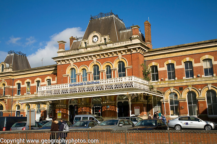Railway station, Portsmouth and Southsea, Hampshire, England