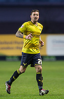 Chris Maguire of Oxford United during the Sky Bet League 2 match between Oxford United and Bristol Rovers at the Kassam Stadium, Oxford, England on 17 January 2016. Photo by Andy Rowland / PRiME Media Images.
