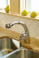 Kitchen faucet and sink