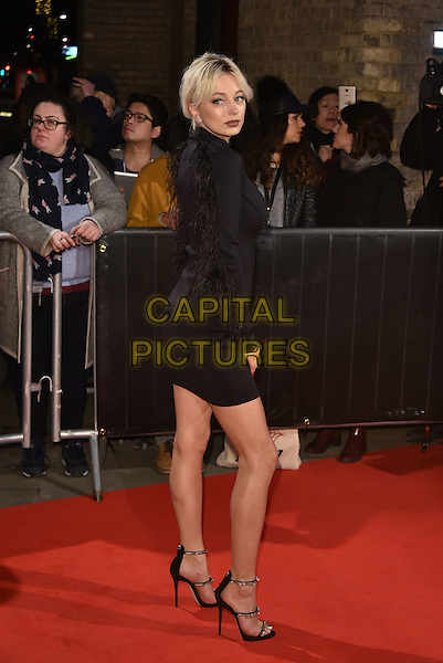 Caroline Vreeland <br /> The Naked Heart Foundation Fabulous Fund Fair, at The Roundhouse, Camden, London, England on February 21,  2017.<br /> CAP/Phil Loftus<br /> &copy;Phil Loftus/Capital Pictures