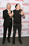 Victor Garber and Rob Falconer attends 'The Play That Goes Wrong' Broadway Opening Night at the Lyceum Theatre on April 2, 2017 in New York City.