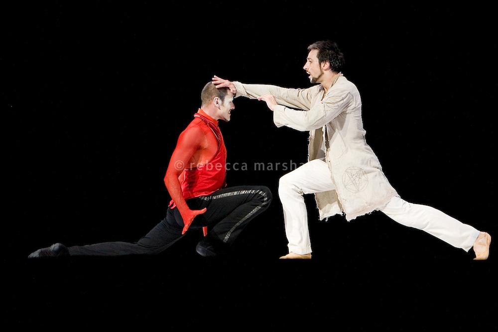 Dress rehearsal of Les Ballets de Monte Carlo's production of the ballet 'Faust', Grimaldi Forum, Monaco, 28 April 2009