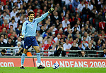 David James of England during the Friendly International match at Wembley Stadium, London. Picture date 28th May 2008. Picture credit should read: Simon Bellis/Sportimage