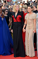 Khadja Nin, Cate Blanchett &amp; Kristen Stewart at the closing gala screening for &quot;The Man Who Killed Don Quixote&quot; at the 71st Festival de Cannes, Cannes, France 19 May 2018<br /> Picture: Paul Smith/Featureflash/SilverHub 0208 004 5359 sales@silverhubmedia.com