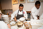 New York, NY - June 18, 2018: Chefs Tanya Holland, Brother Luck, Adrienne Cheatham, and Christopher Scott present a Juneteenth feast at the James Beard House in Greenwich Village.<br /> <br /> <br /> CREDIT: Clay Williams for The James Beard Foundation.<br /> <br /> &copy; Clay Williams / http://claywilliamsphoto.com