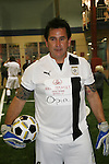 Anthony Lapaglia - Without a Trace - goalie of winning team at the Celebrity soccer game to benefit Hollywood United for Haiti at 1st Setanta Cup Soccer Festival on April 11, 2009 at Chelsea Pers, NYC. (Photo  by Sue Cofln/Max Photos)