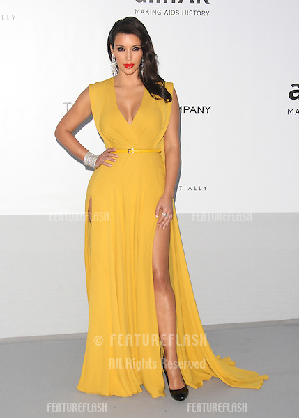 Kim Kardashian arriving for AmfAR's Cinema Against Aids gala 2012 during the 65th annual Cannes Film Festival.Cannes, France. 24/05/2012 Picture by: Henry Harris / Featureflash