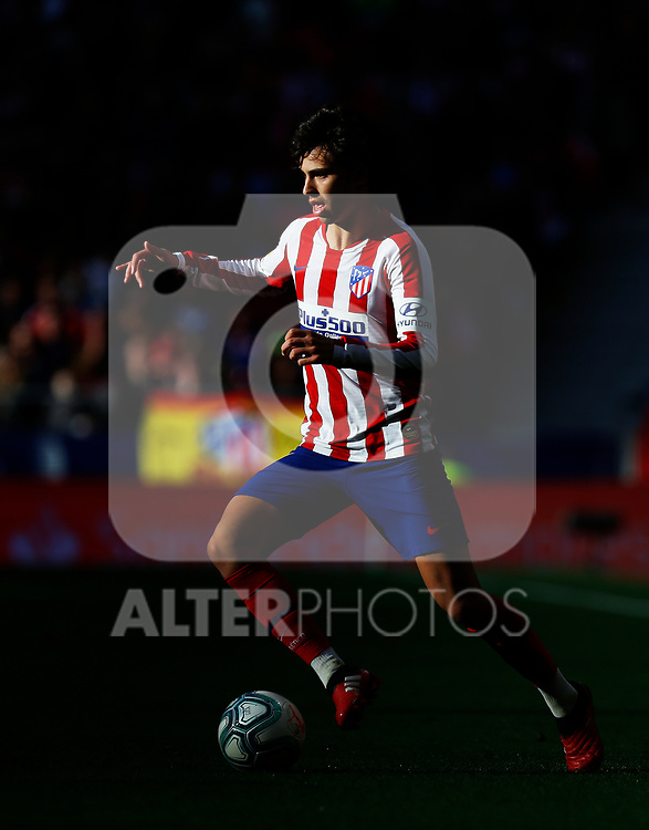 Atletico de Madrid's Joao Felix seen in action during La Liga match. Mar 07, 2020. (ALTERPHOTOS/Manu R.B.)