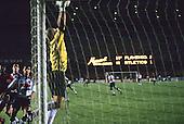 Rio de Janeiro, Brazil. Saving a goal, Flamengo v  Atletico Mineiro, Maracana  Stadium.