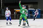Stockholm 2013-11-08 Bandy Elitserien Hammarby IF - Villa Lidk&ouml;ping BK :  <br /> Hammarby Patrik Nilsson jublar efter att ha gjort 2-0<br /> (Foto: Kenta J&ouml;nsson) Nyckelord:  jubel gl&auml;dje lycka glad happy