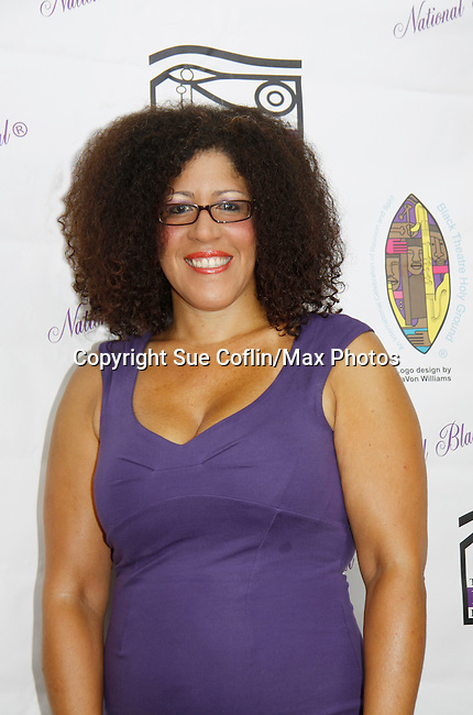 "Rain Pryor in her own play ""Fried Chicken and Latkes"" at The National Black Theatre Festival with a week of plays, workshops and much more with an opening night gala of dinner, awards presentation followed by Black Stars of the Great White Way followed by a celebrity reception. It is an International Celebration and Reunion of Spirit. (Photo by Sue Coflin/Max Photos)"