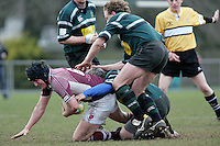 01 MAR 2008 - SCUNTHORPE, UK - Loughborough Students James Cullen - Scunthorpe RUFC  v Loughborough Students RUFC. (PHOTO (C) NIGEL FARROW)