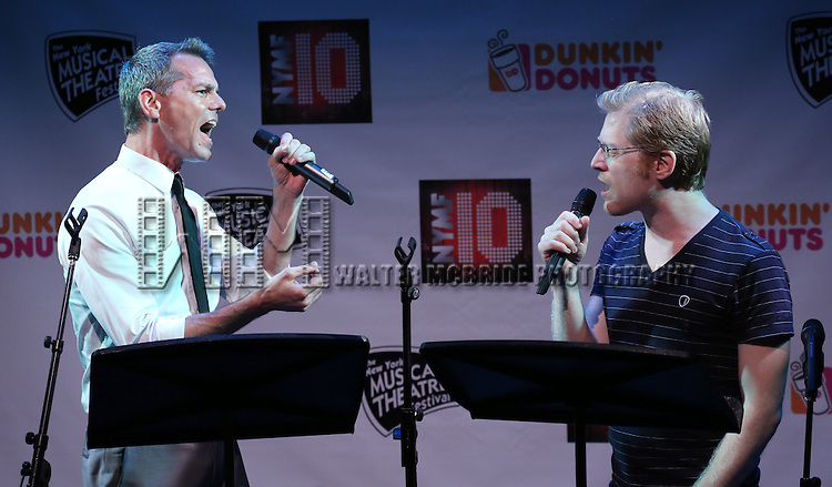 'The Water Dream' featuring J. Robert Spencer and Anthony Rapp Performing at The New York Musical Theatre Festival - Special Preview at The Studio Theatre on July 2, 2013 in New York City.