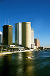 Florida, Tampa: City skyline..  Photo #: tampas105..Photo copyright Lee Foster, www.fostertravel.com, 510/549-2202, lee@fostertravel.com