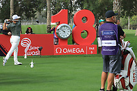 Thorbjorn Olesen (DEN) during the first round of the Omega Dubai Desert Classic, Emirates Golf Club, Dubai, UAE. 24/01/2019<br /> Picture: Golffile | Phil Inglis<br /> <br /> <br /> All photo usage must carry mandatory copyright credit (&copy; Golffile | Phil Inglis)