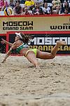 30.05.2015, Moskau, Vodny Stadion<br /> Moskau Grand Slam, Main Draw / Halbfinale<br /> <br /> Abwehr Larissa Franca (#1 BRA)<br /> <br />   Foto &copy; nordphoto / Kurth