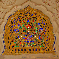 In the Zenana- The Palaces of the queens Mehrangarh Fort in Jodhpur, Rajasthan, India.