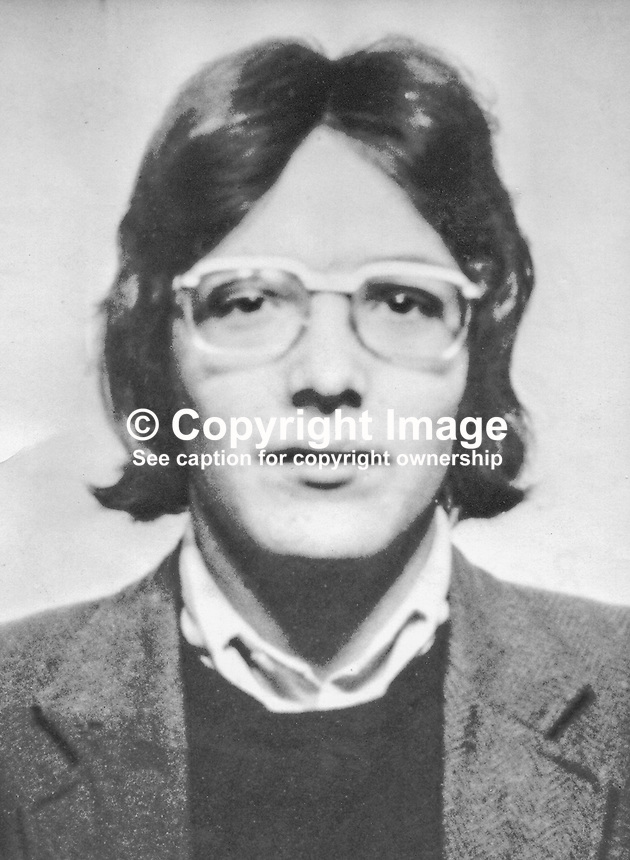 Peter Orr, 19 years, from Alliance Road, Belfast, N Ireland, UK, who was found shot dead, along with his brother, Malcolm, 20 years, on 5th July 1972 at Bell&rsquo;s Road near Belfast International Airport. Their killings have been one of the mysteries of the Troubles as no organization has ever admitted responsibility. For more information see the book, Lost Lives. 197207050568a<br /> <br /> Copyright Image from Victor Patterson, 54 Dorchester Park, Belfast, UK, BT9 6RJ<br /> <br /> t1: +44 28 9066 1296<br /> t2: +44 28 9002 2446<br /> m: +44 7802 353836<br /> <br /> e1: victorpatterson@me.com<br /> e2: victorpatterson@gmail.com<br /> <br /> www.victorpatterson.com<br /> <br /> IMPORTANT: Please see my Terms and Conditions of Use at www.victorpatterson.com