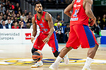 CSKA Moscow Cory Higgins during Turkish Airlines Euroleague match between Real Madrid and CSKA Moscow at Wizink Center in Madrid, Spain. November 29, 2018. (ALTERPHOTOS/Borja B.Hojas)