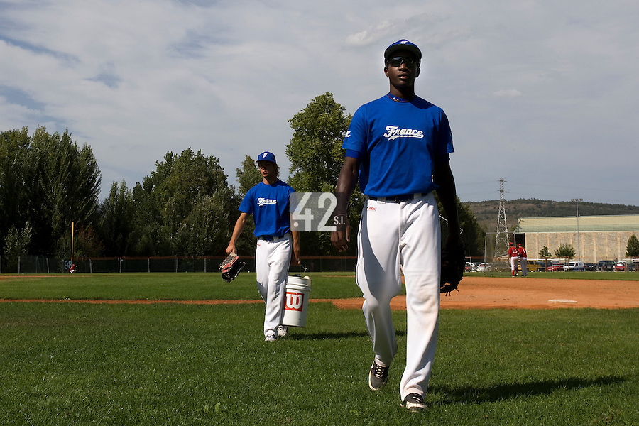 BASEBALL - EUROPEAN UNDER -21 CHAMPIONSHIP - PAMPELUNE (ESP) - 03 TO 07/09/2008 - PHOTO : CHRISTOPHE ELISE.FREDERIC HANVI (FRANCE)