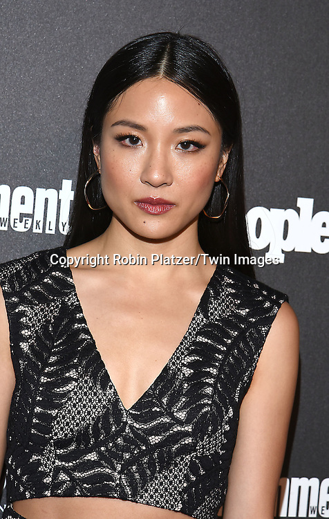 Constance Wu attends the Entertainment Weekly &amp; PEOPLE Magazine New York Upfronts Celebration on May 16, 2016 at Cedar Lake in New York, New York, USA.<br /> <br /> photo by Robin Platzer/Twin Images<br />  <br /> phone number 212-935-0770