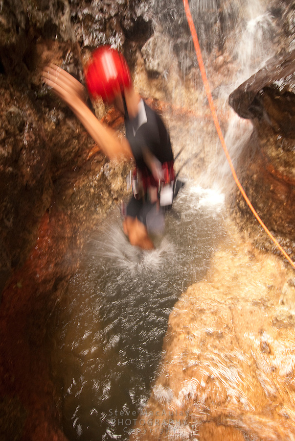 Canyoneering with Desafio and Pure Trek Canyoning, La Fortuna/Arenal,  Costa Rica