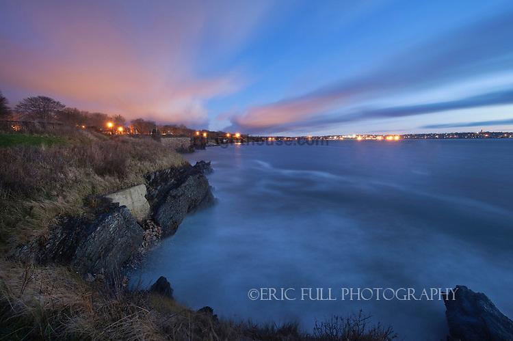 Cliff Walk at Dawn