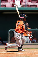 Netherlands National Team second baseman Dwayne Kemp #7 during a spring training exhibition game against the Tampa Bay Rays at Al Lang Field on March 18, 2012 in St. Petersburg, Florida.  Tampa Bay defeated the Netherlands 4-3.  (Mike Janes/Four Seam Images)