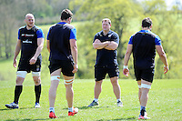 Bath Rugby first team coach Neal Hatley looks on. Bath Rugby training session on May 3, 2016 at Farleigh House in Bath, England. Photo by: Patrick Khachfe / Onside Images