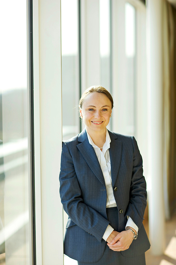 Photo: © Martin Beddall/ 2008..Portrait of Virginie Maisonneuve, Head of Global and International Equities, Schroders. Pictured in London, UK.Virginie Maisonneuve, Head of G;obal & International Equities at Schroders Investment Management in London UK.
