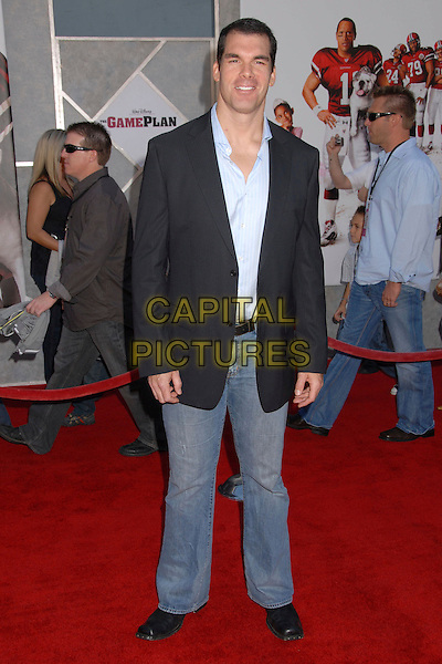 "BRANDON MOLALE.""The Game Plan"" World Premiere at the El Capitan Theater, Hollywood, California, USA..September 23rd, 2007.full length black suit jacket jeans denim .CAP/ADM/BP.©Byron Purvis/AdMedia/Capital Pictures."