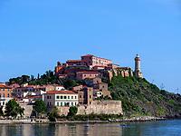 Forte Stella, Villa Mulinii, Portoferraio, Elba, Region Toskana, Provinz Livorno, Italien, Europa<br /> Region Tuscany, Province Livorno, Italy, Europe