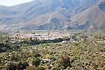 Town of Orgiva, Alpujarra area, Granada province, Spain