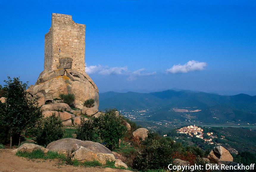 Italien, Elba, Turm San Giovanni