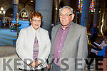 Tony and Mary Ennis from Oakpark celebrating 50 years of marriage at a special ceremony in St John's Church on Saturday