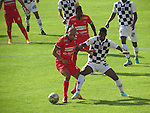 Patriotas y Boyacá Chicó empataron 1-1 en el estadio La Independencia de Tunja, juego correspondiente a la décima jornada del campeonato apertura colombiano.