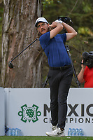 Tommy Fleetwood (ENG) watches his tee shot on 16 during round 3 of the World Golf Championships, Mexico, Club De Golf Chapultepec, Mexico City, Mexico. 2/23/2019.<br /> Picture: Golffile | Ken Murray<br /> <br /> <br /> All photo usage must carry mandatory copyright credit (© Golffile | Ken Murray)