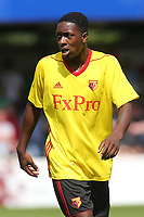 Mike Folivi of Watford during Woking vs Watford, Friendly Match Football at The Laithwaite Community Stadium on 8th July 2017