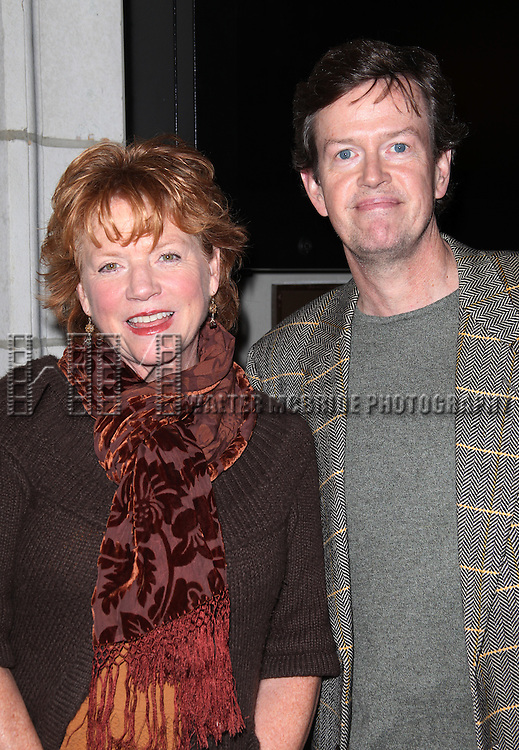 Becky Ann Baker and Dylan Baker.at the Opening Night Performance of the Manhattan Theatre Club's Production of 'Venus In Fur' at the Samuel J. Friedman Theatre in New York City.