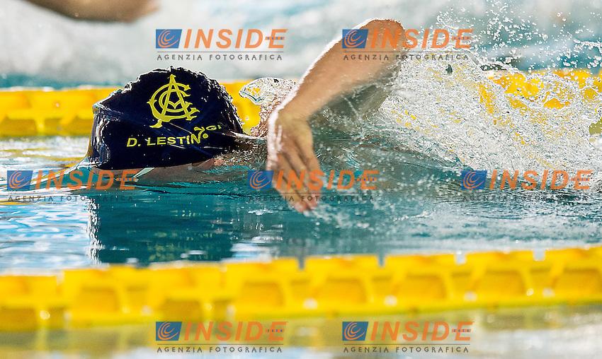 Damiano Lestingi CC Aniene<br /> 400 stile libero uomini<br /> Campionati Italiani Assoluti Nuoto Primaverili Fin UnipolSai<br /> Riccione Italy 14-18/04/2015<br /> Photo Giorgio Scala/Deepbluemedia/Insidefoto