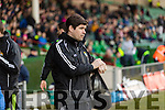 Eamonn Fitzmaurice Kerry Manager Kerry v Limerick in the Final of the McGrath Cup at the Gaelic Grounds on Sunday.