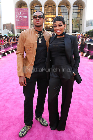 NEW YORK, NY - JULY 11: Shannon Brown and Monica  at VH1's Hip Hop Honors at David Geffen Hall at Lincoln Center in New York City on July 11, 2016. Credit: Walik Goshorn/MediaPunch