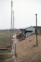 General view of Consett AFC Football Ground, Belle View Stadium, Consett, County Durham, pictured on 7th April 1996