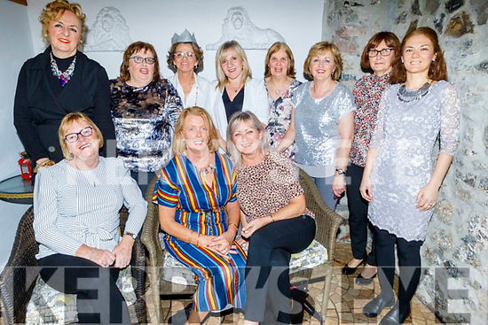 Staff of the HSE enjoying their Christmas party in Bella Bia on Saturday.<br /> Seated l to r: Mary Scannell, Joan Carmody and Helen McElligott.<br /> Back l to r: Caroline O'Regan, Noreen McElligott, Ann Sheehan, Noreen O'Shea, Margaret O'Shea, Bridget Kerins, Kathleen Healy and Ladislava Kauric.