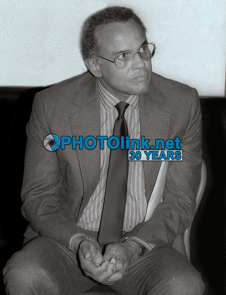 Harry Belafonte 1984<br /> Photo By Jesse Nash/PHOTOlink