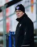 Stockholm 2013-02-10 Bandy Elitserien , Hammarby IF - IFK Vänersborg :  .Vänersborg tränare Stefan Karlsson .(Byline: Foto: Kenta Jönsson) Nyckelord:  porträtt portrait